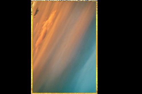 'London Calling II' 60x90 / 24K gold-plated frame
