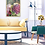 Thumbnail: 'Stillness' 60x90 / 24K gold-plated frame