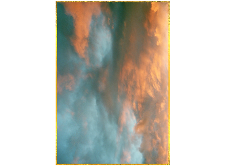 'London Calling I' 60x90 / 24K gold-plated frame
