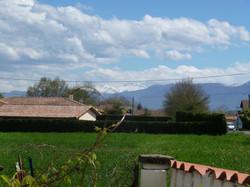 vue sur la Pyrenees