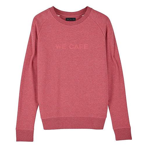 Sweatshirt We Care (Femme)