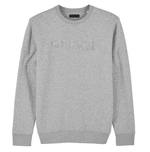Sweatshirt Gris Chiné (unisexe)