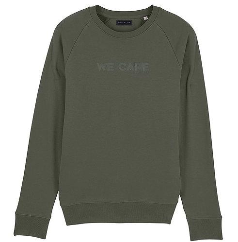 Sweatshirt We Care (Homme)