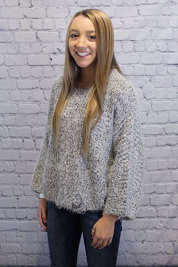 Long Sleeve Cozy Sweater Top