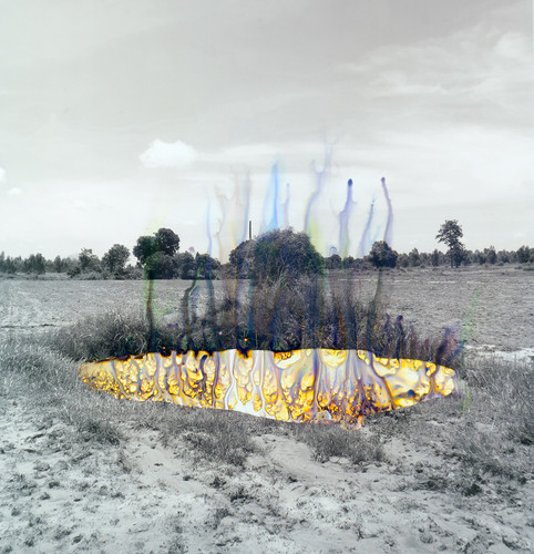 """Title : Invisible colours Size: 12"""" x 12"""" inch Year : 2016 Technique : Photography, Print with Murakumo Kozo Select White 24g from Awagami Japan"""