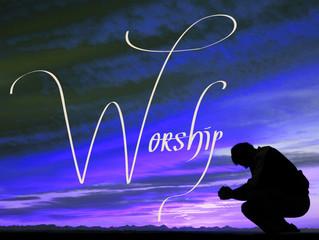 When in doubt, always worship.