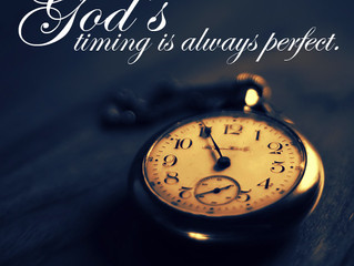 ALL YOU NEED IS ONE MINUTE WITH GOD