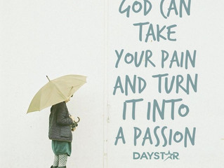 Pain Produces Passion