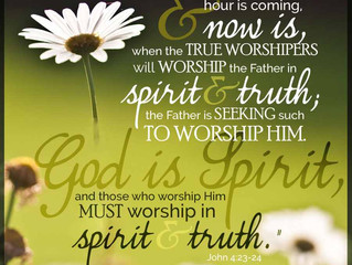 Spirit and Truth