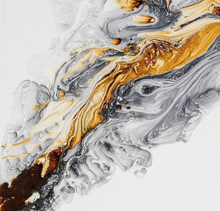 Abstract-Painting-with-ochre-and-black i