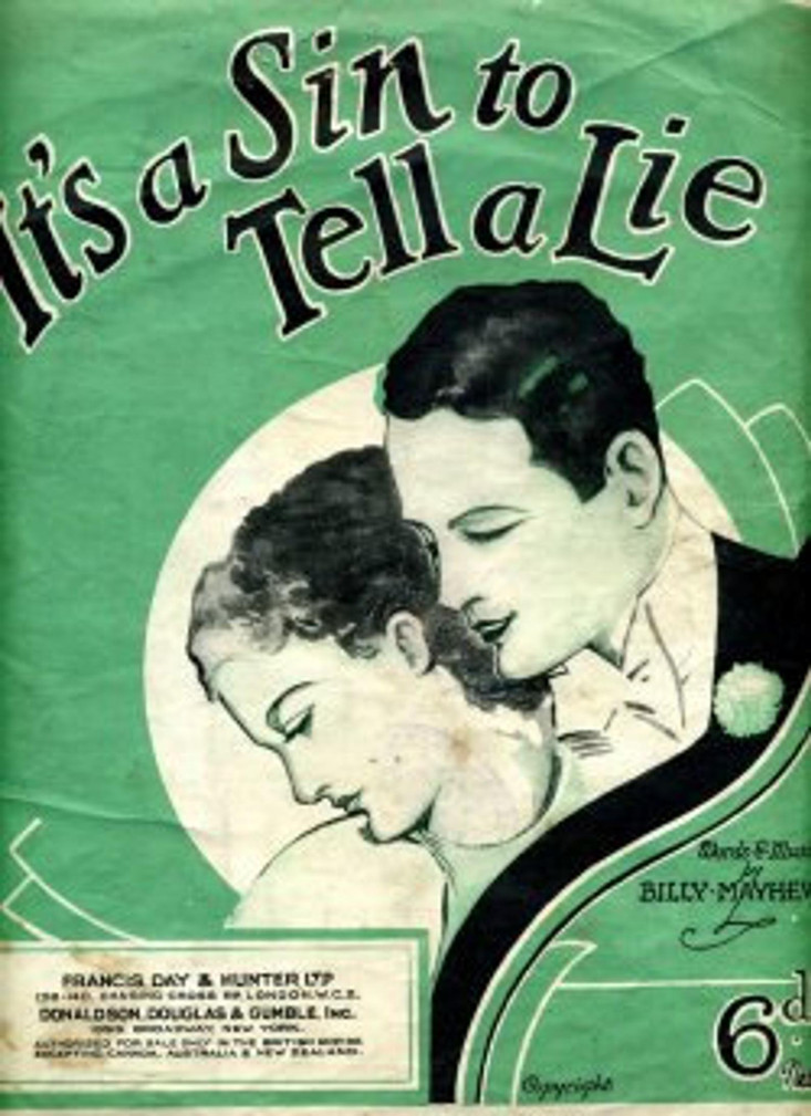 It's A Sin To Tell A Lie (1936)