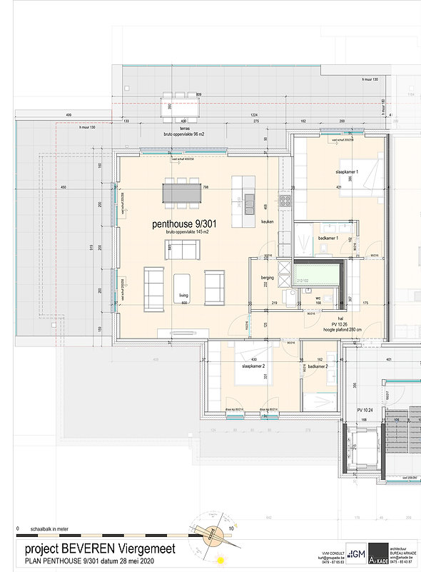 4GM-- 05 ONO-PLAN VERKOOP-penthouse 9_30