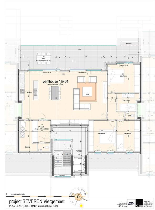 4GM-- 08 ONO-PLAN VERKOOP-penthouse 11_4