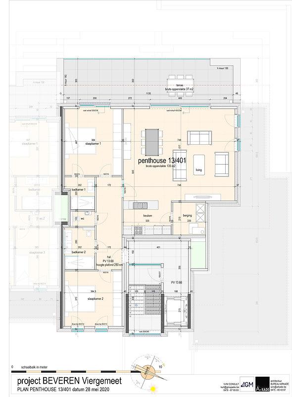 4GM-- 09 ONO-PLAN VERKOOP-penthouse 13_4