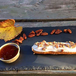 Maple Syrup Eclair
