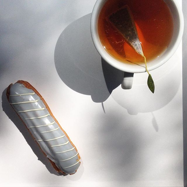 Earl Grey tea eclair