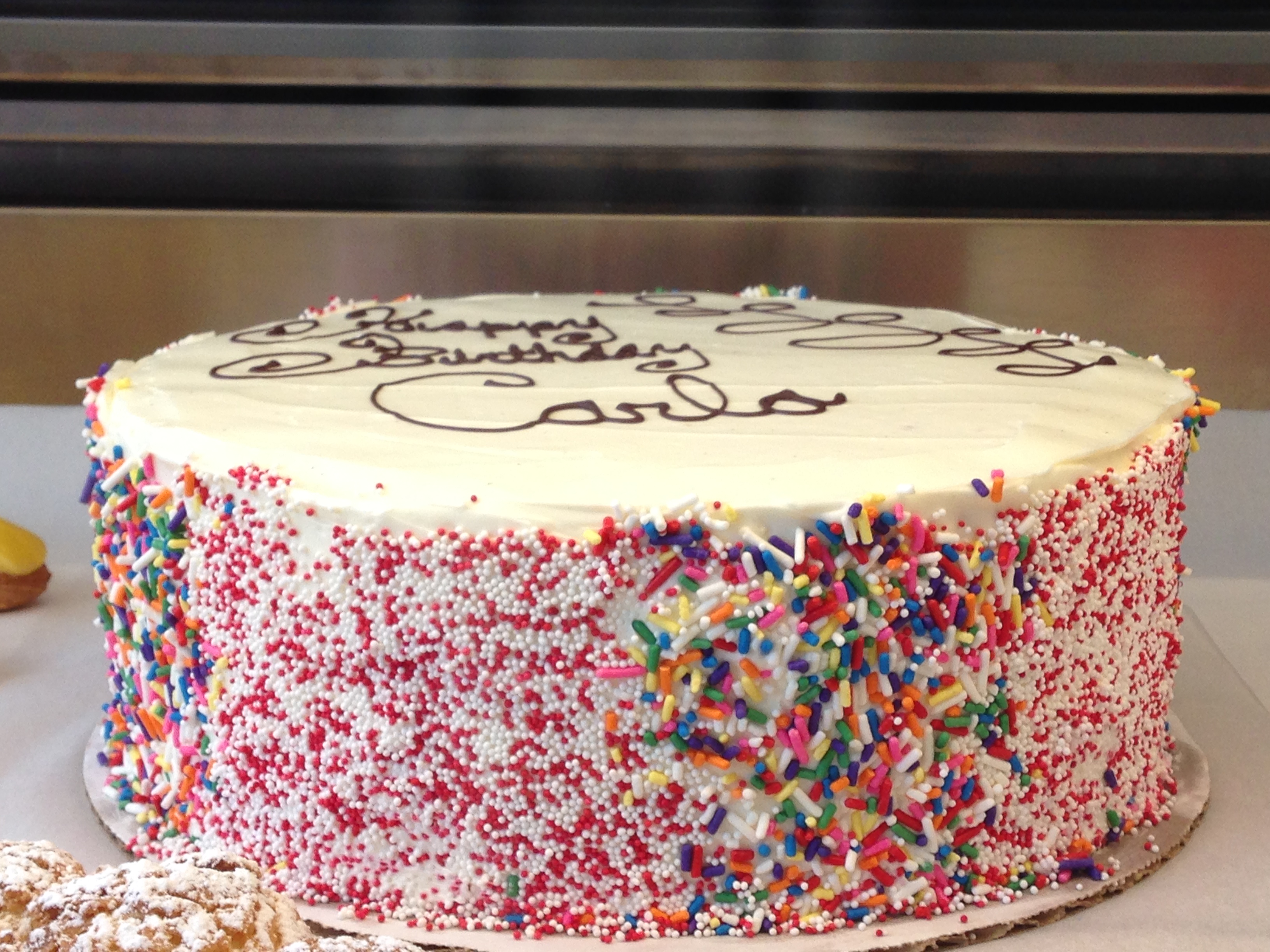 Vanilla and Sprinkles - Gluten free