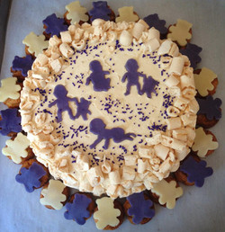 Vanilla and Blueberry Capricieux