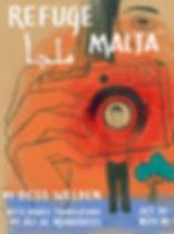 Refuge*Malja Poster