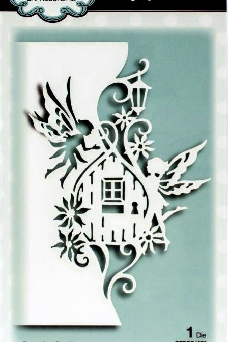 Fairy Door Edger Paper Cuts Die