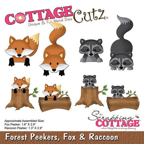 Forest Peekers Fox and Raccoon Die