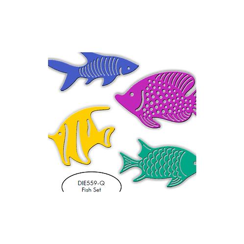 Fish Die Set