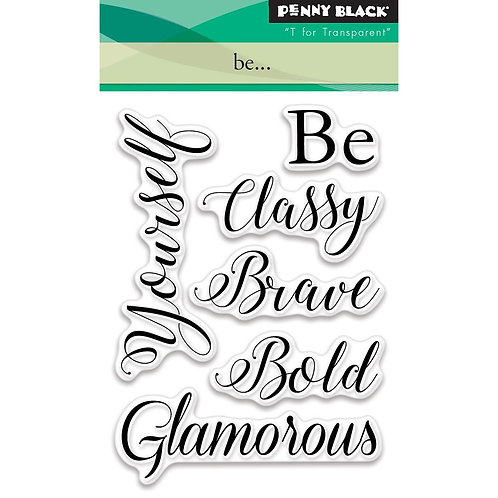 Be...Clear Stamp Set