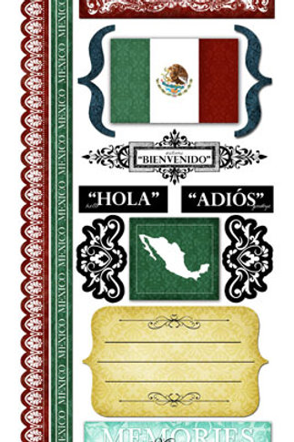 Explore Mexico Stickers