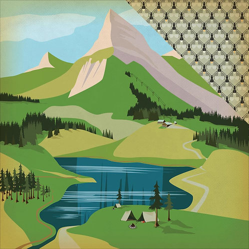 The Great Outdoors, Into the Woods Cardstock