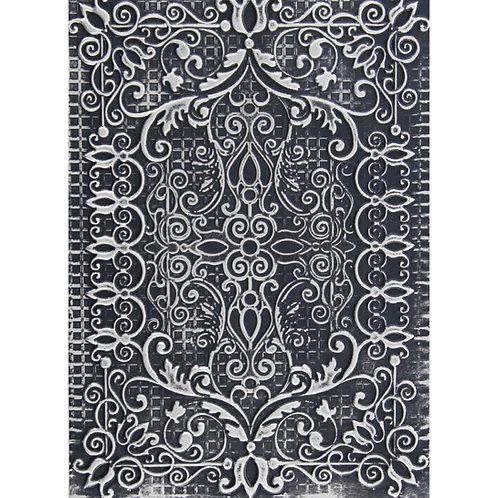 European Tapestry 3D Embossing Folder
