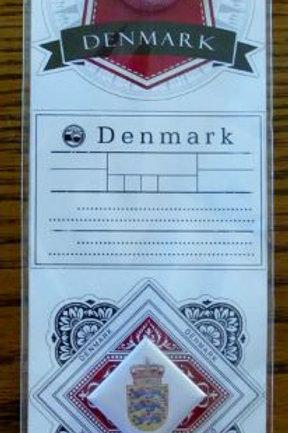 Denmark Journal Stickers