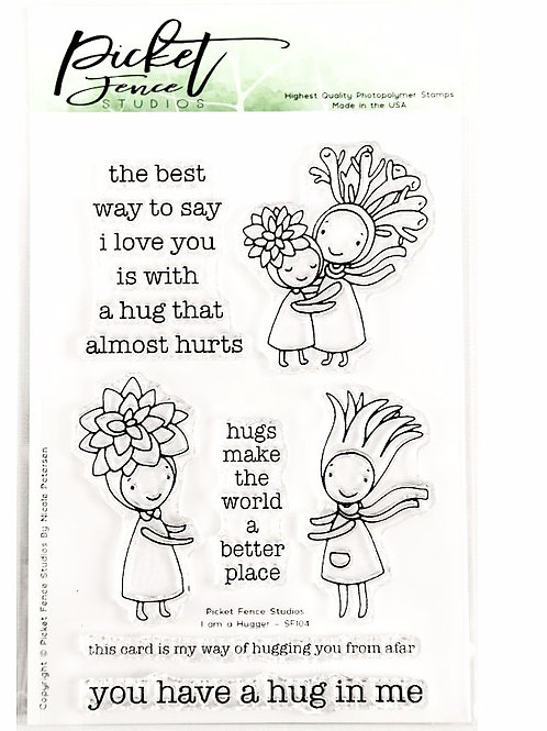 I am a Hugger Stamp Set