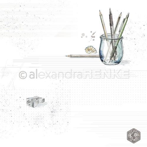 Midori Pens in Glass Cardstock
