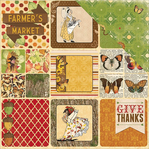 Enchanted Harvest, Autumn Cardstock