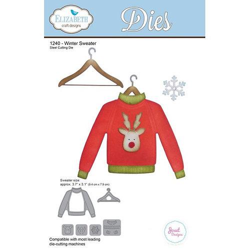 Winter Sweater Die Set