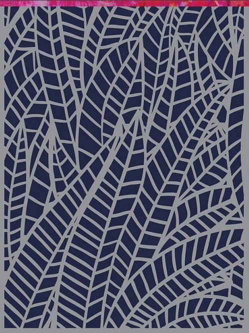 Jungle 6x9 Mixed Media Stencil