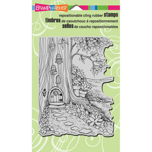Create The Perfect Home For A Gnome Or Fairy Friendly Pixie Sprite This Is Great Stamp To Use On Wedding Baby Card Garden Journal