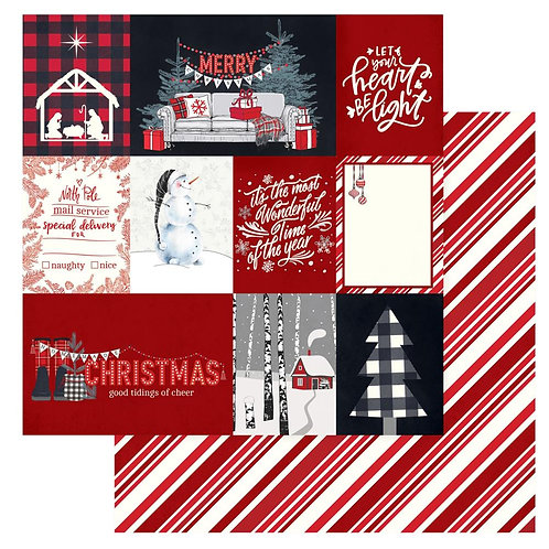 Christmas Cheer Let Your Heart be Light Cardstock