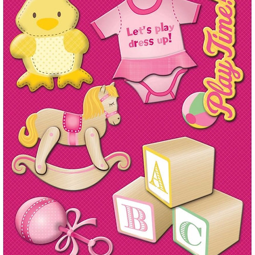 Baby Girl Toys Sticker Medley