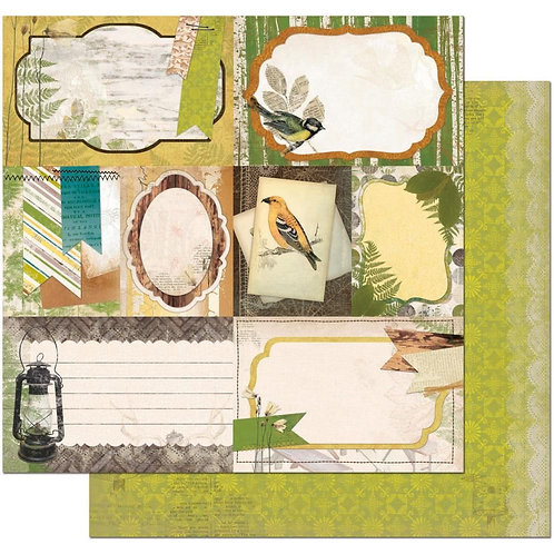 Trail Mix Picnic Cardstock