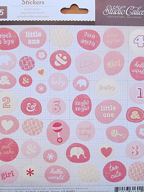 Story Time Girl, Sticker Sheet