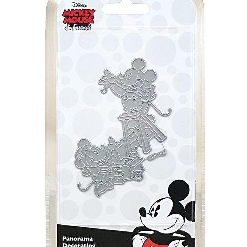 Mickey and Minnie Panorama Decorating Disney Die