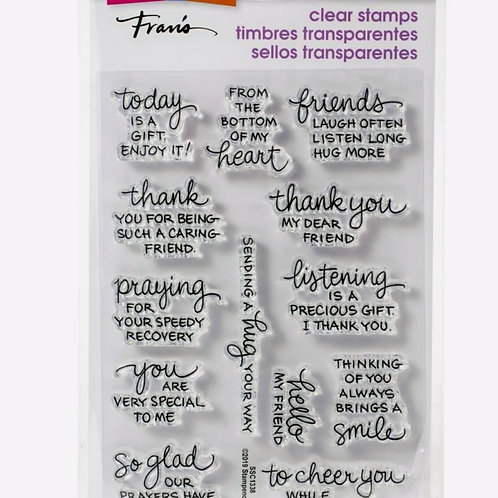 From my Heart Clear Stamp Set
