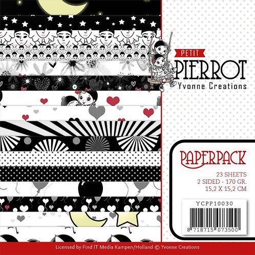 Petit Pierrot 6x6 inch Paper pack