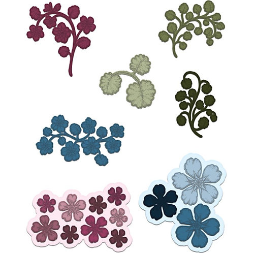 Wildwood Florals Cut and Emboss Die Set