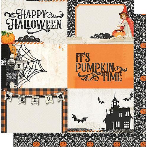 Simple Stories Vintage Halloween 4x6 Horizontal Elements