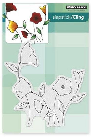 Charming Poppy Stamp