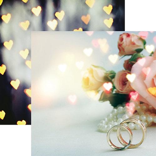 Modern Wedding True Love Cardstock