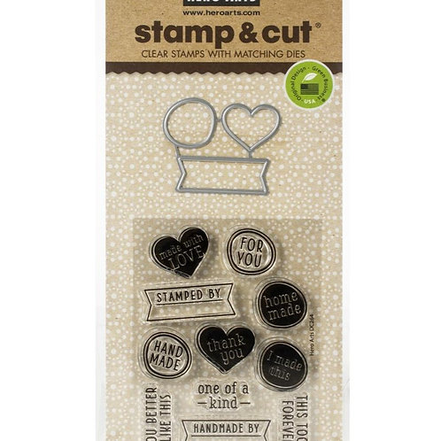 One of a Kind Stamp and Die Set