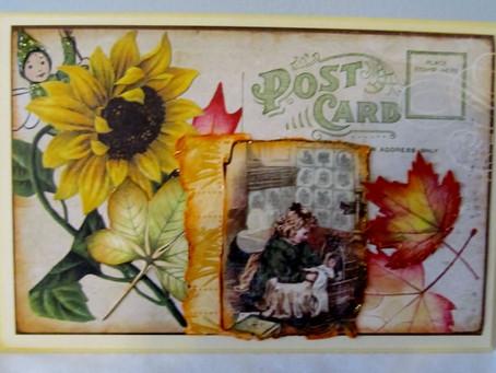 Vintage BoBunny Baby Cards